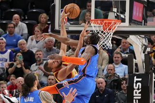 NBA: Thunder take down cold-shooting Jazz