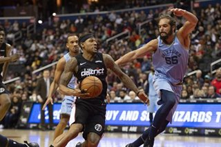 NBA: Beal hits 40 again, leads Wizards past Grizzlies