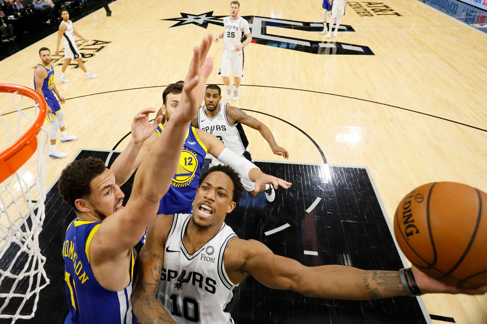San Antonio Spurs beat Golden State Warriors