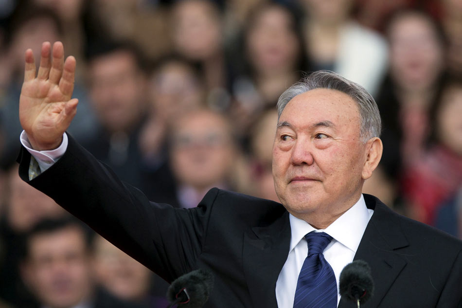 Kazakhstan's president steps down after 30 years