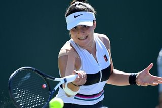 Tennis: Andreescu keen to ensure injuries don't block her meteoric rise