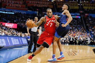 NBA: Raptors blow lead but top Thunder in OT