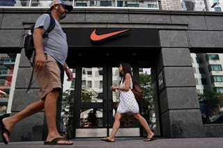 Nike shares fall on slower North American sales growth