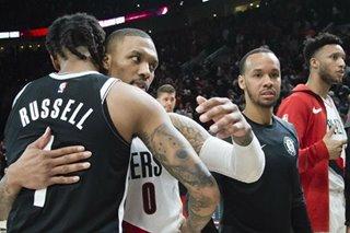 NBA: Blazers outlast Nets in double OT, Nurkic hurt late