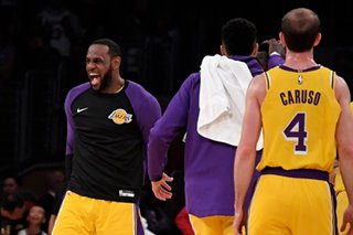 NBA: Lakers hand Wizards fifth straight setback