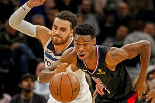 NBA: Streaking Clippers top Wolves, clinch playoff berth