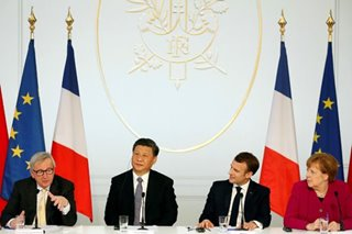 European leaders demand win-win relationship with China