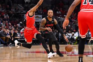 NBA: Blazers beat up on short-handed Bulls