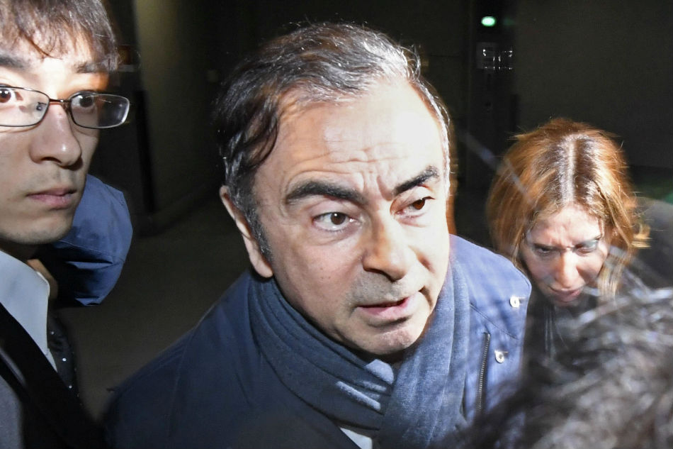 Tokyo prosecutors eye building another case against Ghosn
