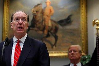 American David Malpass named World Bank president