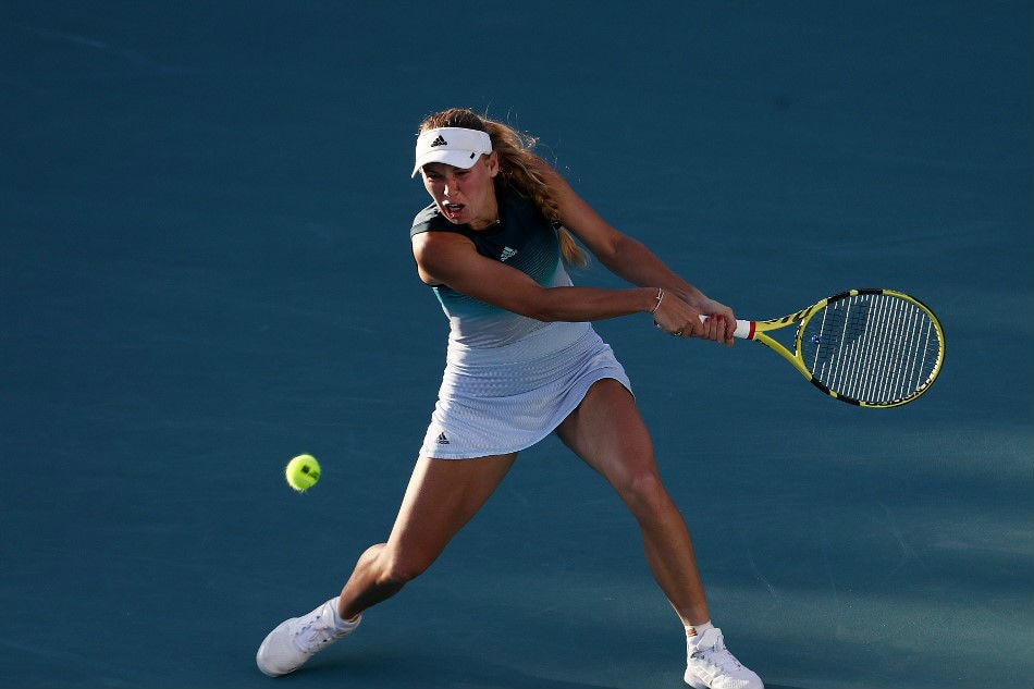 WTA roundup: Wozniacki, Keys reach Volvo Car final