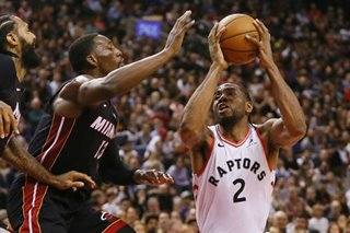 NBA: Loss to Raptors dims Heat's playoff chances