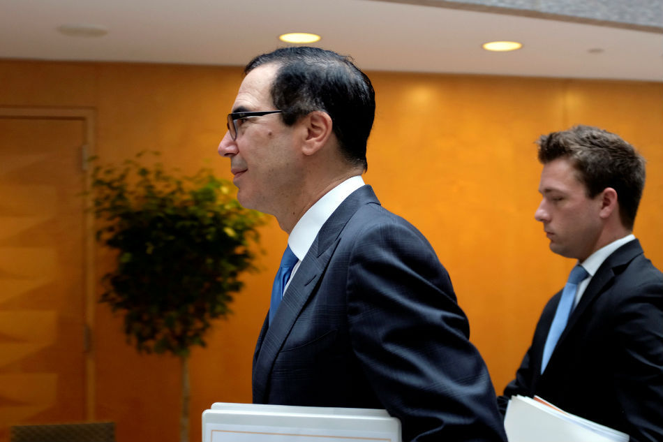 Mnuchin says he hopes U.S.-China trade talks nearing 'final round'