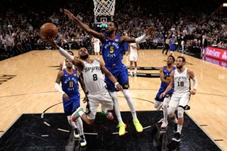 NBA: Spurs pull away from Nuggets to force Game 7