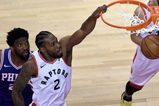 NBA: Leonard scores 45 as Raptors capture Game 1 vs. 76ers