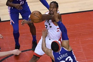 NBA: Sixers hope to stop Leonard, end Toronto skid in Game 2