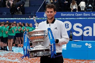 Tennis: Thiem rides out difficult start to ease to Barcelona Open victory