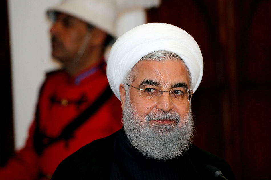 United States to see continuation of Iran's oil exports, Rouhani vows