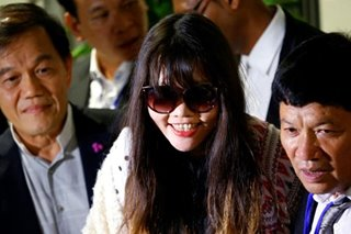 Vietnamese woman in Kim Jong Nam murder case arrives home