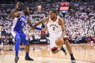 NBA: Raptors rout 76ers for 3-2 series lead