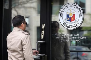 PH pulls out representatives in Canada