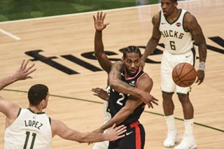 NBA: Raptors hope for home boost vs. Bucks in Game 3