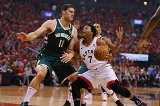 NBA: Lowry, Raptors down Bucks, level East finals