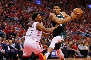 NBA: Bucks will be back in Milwaukee for Game 7, vows hobbled Giannis