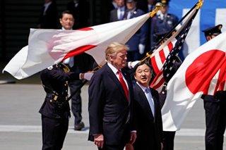 Trump meets Emperor Naruhito