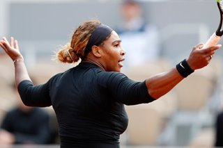 Tennis: Serena overcomes slow start to power into French Open second round