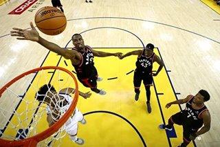 NBA: Raptors' collective threat overwhelms ailing Warriors
