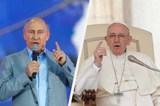 Putin July visit to pope could pave way for Russia trip