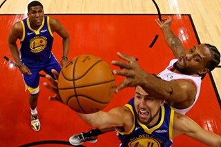 NBA Finals: Warriors' Klay Thompson (hamstring) ruled out of Game 3