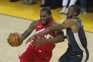 NBA Finals: Raptors take down Warriors, as title within grasp