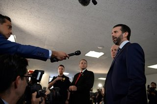 Trump Jr grilled by US senators, says unconcerned about perjury
