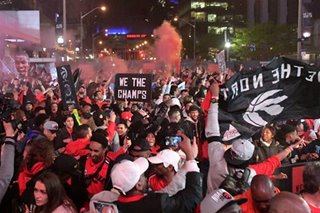 NBA: Raptors' victory parade could draw up to 2 million fans