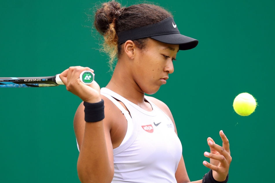 Second seed Osaka crashes out in first round of Wimbledon