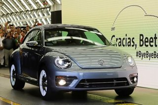 Final Volkswagen 'Beetle' model rolls off Mexican production line