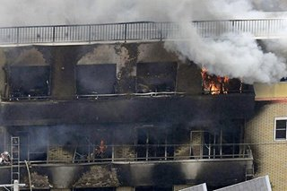 Over 20 dead after man sets fire to Japan anime studio