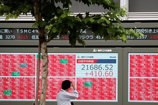 Asia stocks firm as Fed props up rate cut expectations