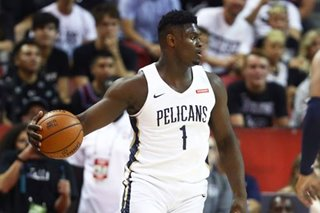 NBA: Zion's shoe deal richest ever for rookie -- report