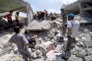 Syria airstrikes killed at least 100 civilians in past 10 days: UN