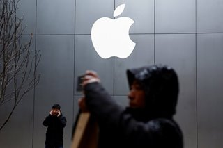 Apple leads as US stocks higher ahead of Fed decision