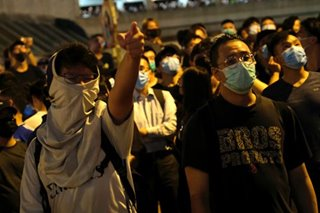 Hong Kong set to ban face masks in bid to curb violence - media