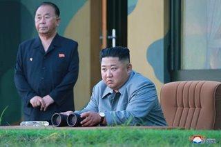 North Korea's Kim Jong Un inspects new rocket system again
