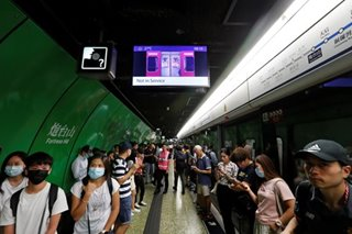 Pro-democracy push causes transport chaos in Hong Kong