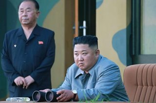 Kim says latest missile launch a 'warning' to US, S. Korea: KCNA