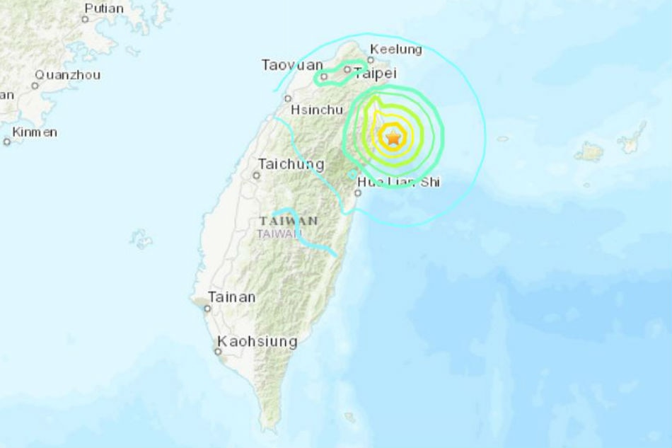 Taiwan rattled by 6.0 magnitude quake