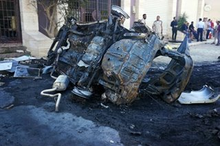 Car bomb explodes in Libya's Benghazi, killing 3 UN staff