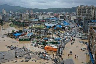 Typhoon Lekima kills 44 in eastern China